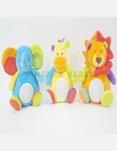 Peluche Animalitos con luz en la panza. Woody Toys.