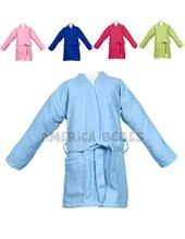 Salida de baño en toalla color, sin capucha. Colores surtidos. Mi bes.
