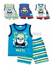 Conjunto nene S/M Skate. Colores surtidos. Yaby.