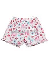 Short nena estampa uniconios. Colores surtidos. Rimbi