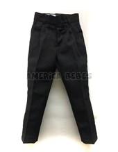 Pantalon mecananico NEGRO Colegial. Talle 6 en adelante viene SIN PINZAS. Talle: 2-4 CON PINZAS. Su-roger