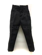 Pantalon mecanico NEGRO Colegial. Talle: 2-4 CON PINZAS.  Talle 6 en adelante SIN PINZAS. Su-Roger