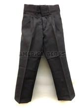 Pantalon mecananico GRIS Colegial. Talle 6 en adelante viene SIN PINZAS. Talle: 2-4 CON PINZAS. Su-roger