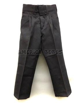 Pantalon mecanico GRIS Colegial. Talle: 2-4 CON PINZAS. Talle 6 en adelante SIN PINZAS. Su-Roger