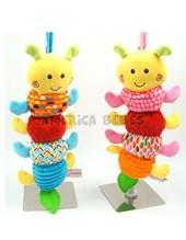 """Cunero 9"""" Gusano. Colores surtidos. Woody toys."""