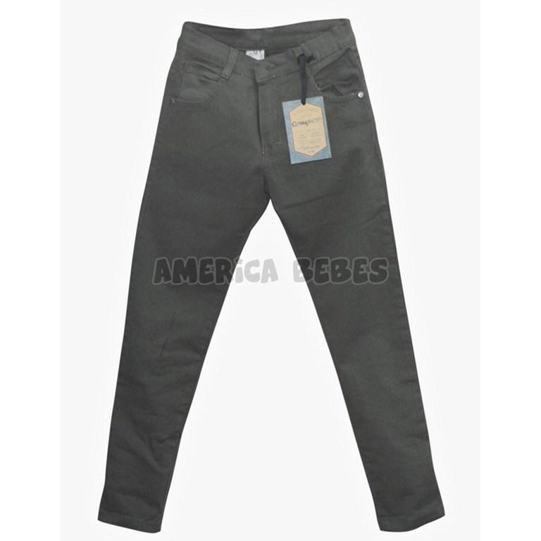 6fc336509 Pantalon gabardina nene Gris. Compacto. - America Bebes
