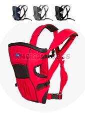 Mochila portabebé By Bag. 2 posiciónes. Con bolsillo. de 3.5 Kg. a 9 Kg. Colores surtidos. Kiddy.