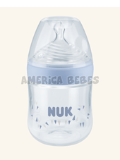 Mamadera NUK Nature Sense 150ml. COLOR CELESTE. Nuk.