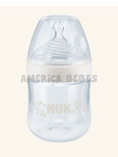 Mamadera NUK Nature Sense 150ml. COLOR BLANCO. Nuk.