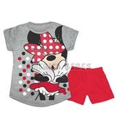 Conjunto Pijama M/C Nena. Estampa Minnie. Colores surtidos. Disney Licencia.