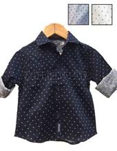 Camisa bebe M/L flechas. Elastizada, combinada con cinta en cuello. Colores surtidos. Popeye Kids.