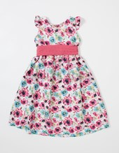 Vestido nena floreado. Colores surtidos. T&G.