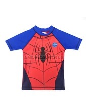 Remera M/C Bebe UV30.  Spiderman. Colores surtidos. Disney Licencia.