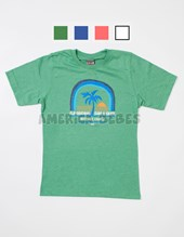 Remera nene M/C estampa Surf Skate Colores surtidos. Flirty.