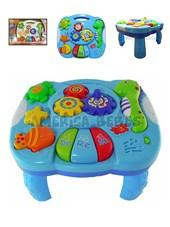 Mesa Musical didactica Acuario. Luz, Musica. Animalitos Zippy toys.