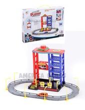 Garage Estacion de servicio. Incluye 3 autos. Rampas movibles. Base de estacionamiento rotativa. Elevador. Surtidores de nafta. Jem.