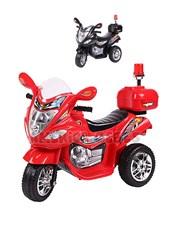 Moto a bateria BMW 6V. 3 Ruedas, luces y  sonidos. Color Rojo. Biemme.