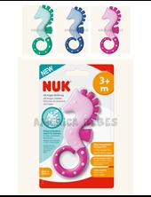 Mordillo NUK Caballito de Mar. Adecuado para distintas fases de dentición. + de 3 meses. Colores surtidos. Nuk