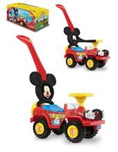 Andarín Mickey: 2 en 1 Barra de empuje y Aro de seguridad. + 12 meses. Kuma Kids.