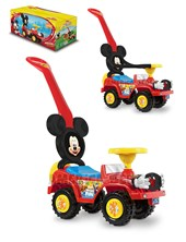 Andarin Mickey: 2 en 1 Barra de empuje y Aro de seguridad. + 12 meses pata pata. Kuma Kids. Disney Licencia.