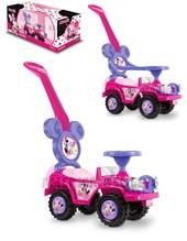 Andarín Minnie: 2 en 1. Barra de empuje y Aro de seguridad + 12 meses. Kuma Kids.