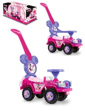 Andarin Minnie: 2 en 1. Barra de empuje y Aro de seguridad + 12 meses pata pata. Kuma Kids. Disney Licencia.