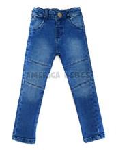 Pantalon jean chupin bebe con recortes. Regulador cintura. Popeye Kids.