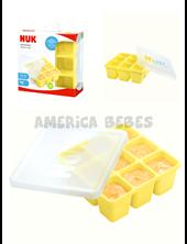 Cubetera para Alimentos NUK Fresh Foods. 9 porciones de 60 ml. Silicona. + 6m. Nuk.