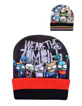 Gorro tejido y sublimado Zombie Infection con REALIDAD AUMENTADA. Colores surtidos. Disney Licencia.