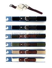 Cinturón elastico en regla  Bastón diagonal regulable. Colores surtidos. Cintos Mac Fly.