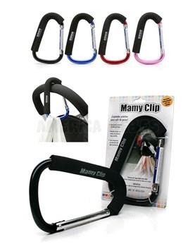 Gancho Universal para cochecito bebe Mamy Clip. Colores surtidos. Baby Innovation.