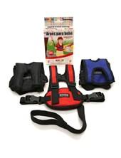 Arnés seguridad con pechera para niños,   regulable. Con presillas para mayor seguridad y practi-agarre. Colores surtidos. Baby Innovation.