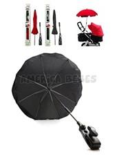 Parasol-Sombrilla para cochecito. Diámetro total: 73cm. Sujetador universal: 38mm. Colores surtidos. Baby Innovation.