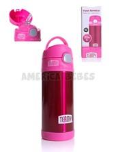 Vaso térmico termy. Color ROSA. Capacidad 355 ml. Mantiene el frío hasta 12 hs. Baby Innovation.