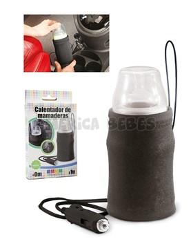 Calentador de mamaderas Para auto,de calentado rápido. Conector 12v,luz de encendido y correa para colgar. Baby Innovation.