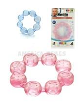 Mordillo ruedita. +3m.  Liquido anticongelante. Textura rugosa. Colores surtidos. Baby Innovation.