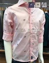 Camisa nene M/L  estampa Moños. Colores surtidos. Popeye Kids.