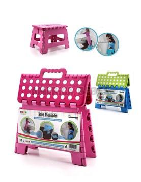 Banquito plegable STEP. Ayuda al bebé a acceder a lugares de dificil alcance. Colores surtidos. Baby Innovation.