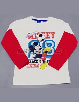 81f890555 Remera M L jersey estampada Mickey. Colores surtidos. Disney Licencia.