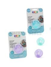 CHUPETE INICIAL T:M 3 A 12 MESES. Tetina: cavidad adaptable para el dedo. Colores surtidos. Baby Innovation.