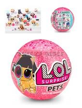 Muñeca LOL Surprise Pets. 7 capas de sorpresas .  Alimente o bañe a las mascotas con agua para sorpresa LOL Surprise. Wabro.