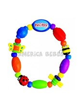 Mordillo de bichitos en forma de collar. Nuby.