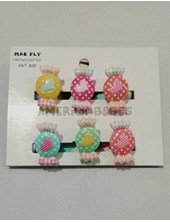 Portachupetes PACK X 6U Caramelos. Colores surtidos. Mac Fly