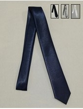 Corbata ceolon azul Juvenil colegial.