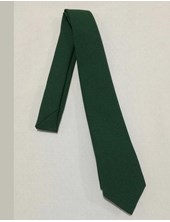 Corbata ceolon verde Juvenil colegial.