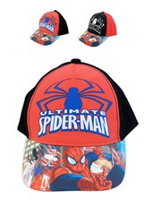 Gorro con visera SPIDERMAN. Colores surtidos. Disney Licencia.