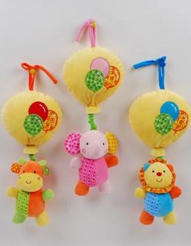Cunero globo con animalitos. Colores surtidos. Woody toys.