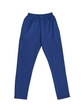 Pantalón de frisa tipo chupín con bolsillos laterales y cintura elastizada. Ely.