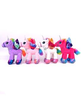 Peluche Unicornio 8'. Colores surtidos. Woody toys.