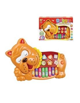 Piano a Pila en foma de Perro Musical. Magnetic Toys.
